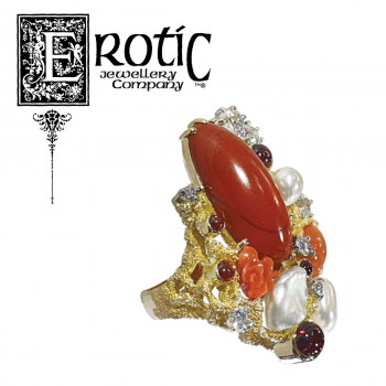 Jasper Ring by erotic jewellery company
